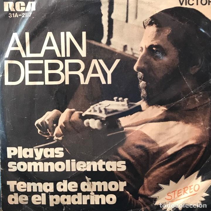 Discos de vinilo: Dos sencillos argentinos de Alain Debray y su Orquesta de Champs Elysees - Foto 2 - 26265168