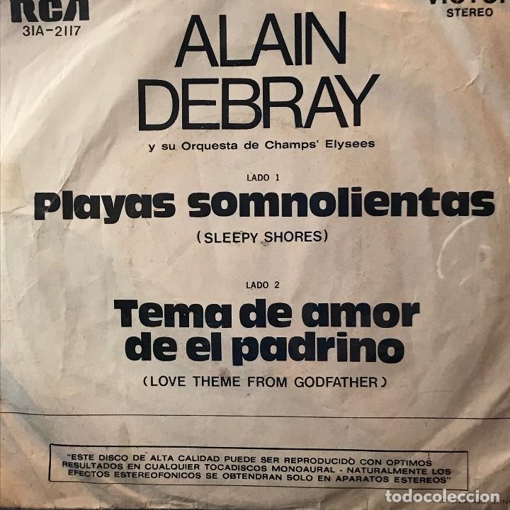 Discos de vinilo: Dos sencillos argentinos de Alain Debray y su Orquesta de Champs Elysees - Foto 3 - 26265168