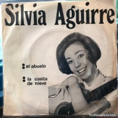 Discos de vinilo: SENCILLO ARGENTINO DE SILVIA AGUIRRE AÑO 1970. Lote 131874666