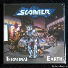 Discos de vinilo: SCANNER - TERMINAL EARTH 12'' LP GATEFOLD PRECINTADO - HEAVY METAL SPEED METAL. Lote 131876054