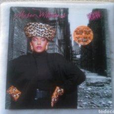 Discos de vinilo: ALYSON WILLIAMS LP RAW 1989 CON ENCARTE VG+ RAP / HIP HOP / SOUL RARO. Lote 131877801