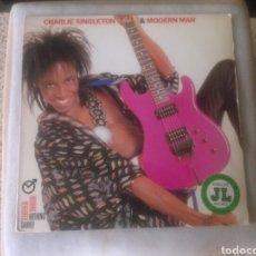 Discos de vinilo: CHARLIE SINGLETON & MODERN MAN LP NOTHING VENTURED NOTHING GAINED 1987 VG GUITAR SOUL FUNK PRINCE. Lote 131878497