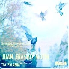 Discos de vinilo: JUAN ERAMOS MOCHI / LA PALABRA (V FESTIVAL DE VALLADOLID) DESPIERTA (SINGLE PROMO 1974). Lote 131887190