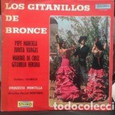 Discos de vinilo: VINILO LOS GITANILLOS DE BRONCE. Lote 131888214