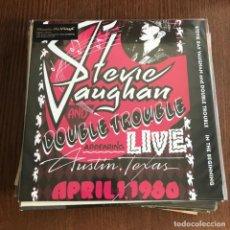 Discos de vinilo: STEVIE RAY VAUGHAN & DOUBLE TROUBLE- IN THE BEGINNING (1992)- LP REEDICIÓN MUSIC ON VINYL 2016 NUEVO. Lote 131888542