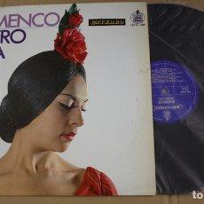 Discos de vinilo: LP LUCERO TENA. FLAMENCO. HISPAVOX, 1967. Lote 131896090