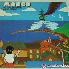 Discos de vinilo: MARCO DE LOS APENINOS A LOS ANDES - LP SPAIN 1977. Lote 156459745