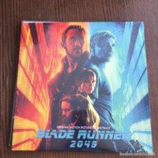 Discos de vinilo: HANS ZIMMER & BENJAMIN WALLFISCH - BLADE RUNNER 2049 - LP DOBLE EPIC 2017 NUEVO. Lote 131902562