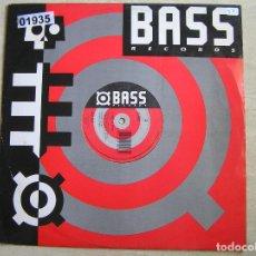 Discos de vinilo: L.U.S.T. – 2 HOT 2 STOP - BASS RECORDS 1989 - MAXI - LS - P. Lote 131904762