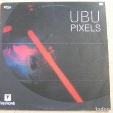 Discos de vinilo: UBU – PIXELS - TANGA RECORDS 2001 - MAXI - LS - P. Lote 131910578