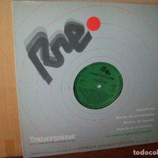 Discos de vinilo: RNE LA MUSICA LIGERA EN ESPAÑA VOLUMEN 42 - LP TRANSCRIPCIONES . Lote 131912254