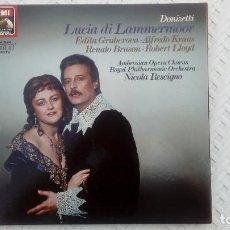 Discos de vinilo: DONIZETTI: LUCIA-DI-LAMMERMOOR 3LP. Lote 131922790