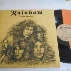 Discos de vinilo: RAINBOW-LP LONG LIVE ROCK 'N' ROLL-PORT.ABIERTA-EDITION COLORED VINYL-NUEVO. Lote 131939354
