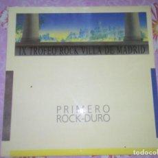 Discos de vinilo: POLVOS MAGICOS PRIMER PREMIO VILLA DE MADRID. Lote 131942570