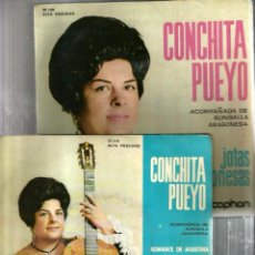 Discos de vinilo: 3 EP'S DE CONCHITA PUEYO ( JOTAS DE ARAGON ) . Lote 131954422