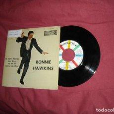 Discos de vinilo: RONNIE HAWKINS EP MR. AND MRS. MISSISIPPI 1961 EDICION ESPAÑOLA. Lote 131962434