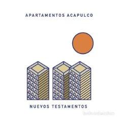 Discos de vinilo: APARTAMENTOS ACAPULCO LP NUEVOS TESTAMENTOS ED. LIMITADA Y DESCATALOGADA NUEVO. Lote 140400048