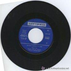 Discos de vinilo: LAS SIETE CABRITAS Y EL LOBO , SN VERGARA 1965 (SOLO DISCO). Lote 131973478