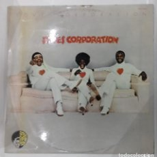 Discos de vinilo: THE HUES CORPORATION - LOVE CORPORATION - LP PROMO - ED ESPAÑOLA 1975. Lote 131980582