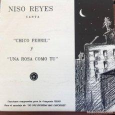 Disques de vinyle: NISO REYES - CHICO FEBRIL . 1991 SOL RECORDS .. Lote 131981126
