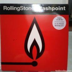 Discos de vinilo: ROLLING STONES FLASHPOINT. RECORDED LIVE 1989-90. STEEL WHEELS/URBAN JUNGLE WORLD TOUR.. Lote 131986506