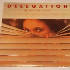 Discos de vinilo: DELEGATION ( THE PROMISE OF LOVE ) USA-1977 LP33 STATE RECORDS. Lote 131986902