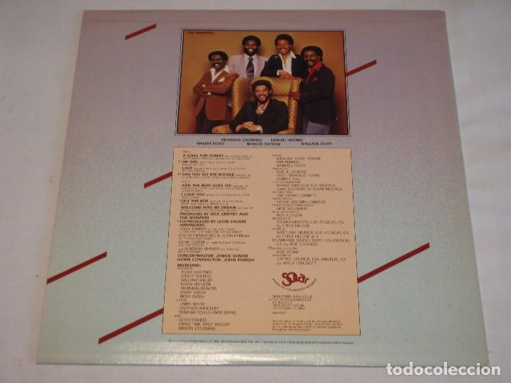 Discos de vinilo: THE WHISPERS - THE WHISPERS USA - 1979 LP SOLAR RECORDS - Foto 2 - 131992258