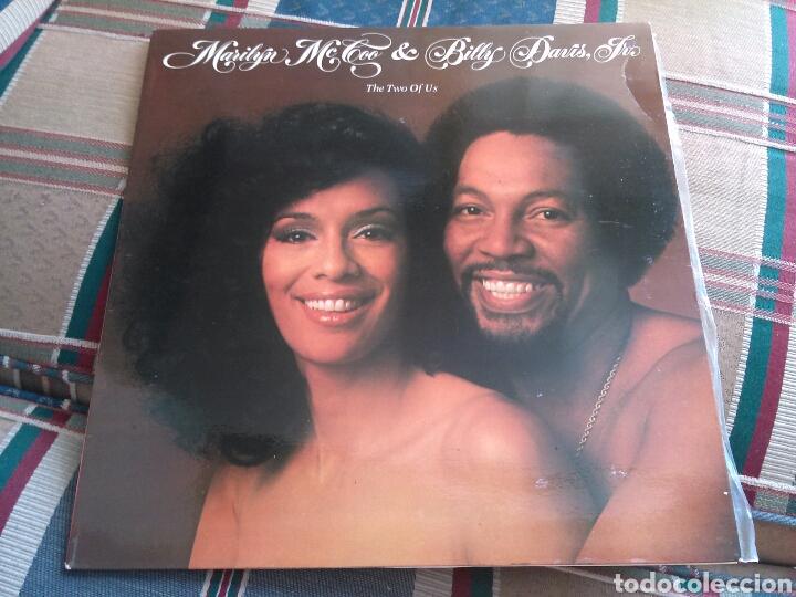 MARILYN MCCOO & BILLY DAVIS LP THE TWO OF US 1977 VG+ SOUL (Música - Discos - LP Vinilo - Funk, Soul y Black Music)