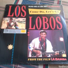 Discos de vinilo: LOS LOBOS MAXI COME ON, LET'S GO + 3 SOUNDTRACK 1987 LA BAMBA RARO. Lote 132002970