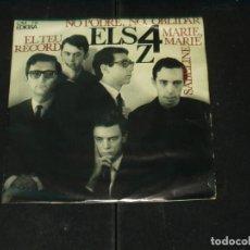 Disques de vinyle: ELS 4 Z EP EL TEU RECORD+3. Lote 132007054