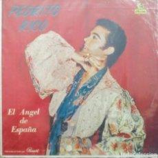 Discos de vinilo: EL ÁNGEL DE ESPAÑA PEDRITO RICO / HECHO EN CUBA. Lote 132009110