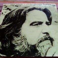 Discos de vinilo: LP - HORACIO GUARANY - AMOR, MIEDO Y SOLEDAD (SPAIN, DISCOS PHILIPS 1975). Lote 132010566