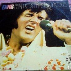 Discos de vinilo: ELVIS PRESLEY - PARA LOS FANS ESPAÑOLES - LP DE EDICION DE 1976 - 2 LP´S - PORTADA GATEFOLD. Lote 132012262