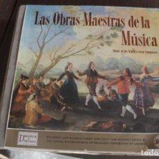 Discos de vinilo: LAS OBRAS MAESTRAS DE LA MÚSICA. Lote 132015054