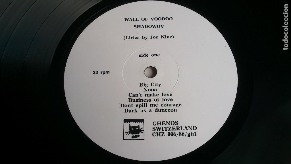 Discos de vinilo: WALL OF VOODOO - SHADOWOV - LP - 1986 - Foto 3 - 132016146