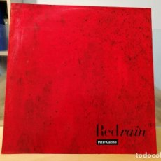 Discos de vinilo: PETER GABRIEL RED RAIN MAXI 12 VINYL 45 RPM 1987 UK. Lote 113860311
