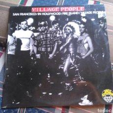 Discos de vinilo: VILLAGE PEOPLE MINI LP SAN FRANCISCO 4 TEMAS 1977 VG. Lote 132024823
