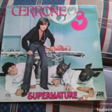 Discos de vinilo: CERRONE 3 LP SUPERNATURE GATEFOLD 1977 LABEL ATLANTIC. Lote 132025946
