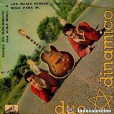 Discos de vinilo: DUO DINAMICO / LAS HOJAS VERDES + 3 TEMAS (EP 61) DISCO NEGRO. Lote 132042018