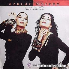 Discos de vinilo: AZUCAR MORENO - MAMBO REMIXES - MAXI-SINGLE SPAIN. Lote 132042786
