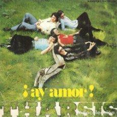 Discos de vinilo: THARSIS. AY AMOR / DONDE ESTAS. SNGLE. VINILO.. Lote 132046390