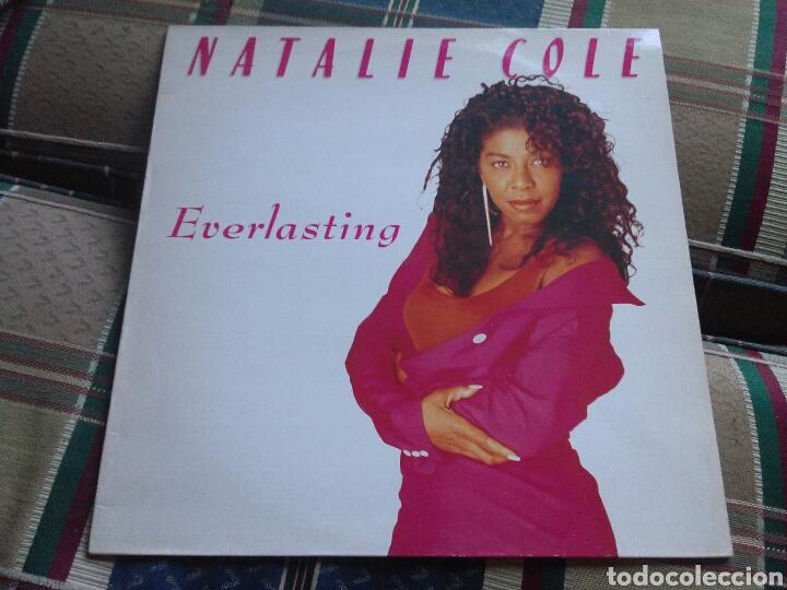 NATALIE COLE LP EVERLASTING 1987 CON ENCARTE (Música - Discos - LP Vinilo - Funk, Soul y Black Music)