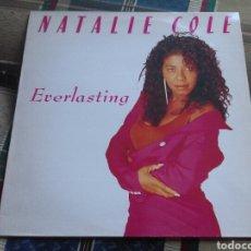 Discos de vinilo: NATALIE COLE LP EVERLASTING 1987 CON ENCARTE. Lote 132046995