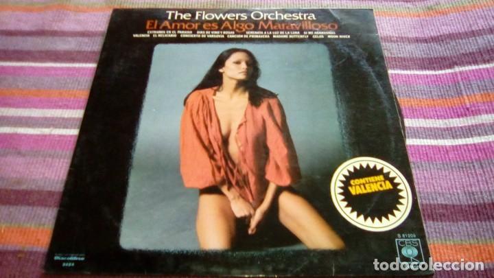 THE FLOWERS ORCHESTRA - EL AMOR ES ALGO MARAVILLOSO - LP CBS 1976 (Música - Discos - LP Vinilo - Orquestas)