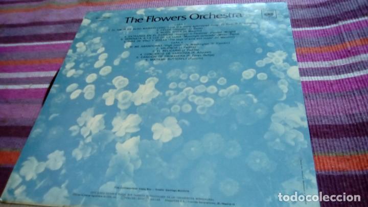 Discos de vinilo: THE FLOWERS ORCHESTRA - EL AMOR ES ALGO MARAVILLOSO - LP CBS 1976 - Foto 2 - 132052138