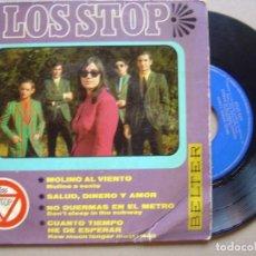 Discos de vinilo: LOS STOP - MOLINO AL VIENTO - EP 1967 - BELTER. Lote 132057966