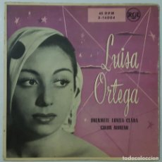 Discos de vinilo: SINGLE - LUISA ORTEGA - DUERMETE LUNITA CLARA / COLOR MORENO - RCA 3-14004 - 1958. Lote 132071314