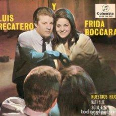 Discos de vinilo: LUIS RECATERO Y FRIDA BOCCARA: POP ESPANOL-CASI MINT- EXCELENTE- OPORTUNIDAD. Lote 132087154