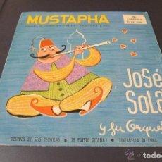 Discos de vinilo: MUSTAPHA: RUDY VENTURA CANTA EN CATALAN 1960 BUEN ESTADO. Lote 145735440