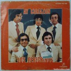 Discos de vinilo: SINGLE - LOS PEREGRINOS - AY CORAZON / RECUERDOS - COLUMBIA MO 1619 - 1976. Lote 132093550